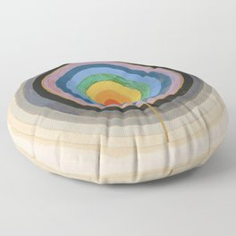 """Hilma af Klint """"Series VIII. Picture of the Starting Point (1920)"""" Floor Pillow"""