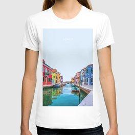 Venice, Italy Travel Artwork T-shirt