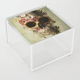 Garden Skull Light Acrylic Box