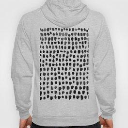 Dots (Black) Hoodie