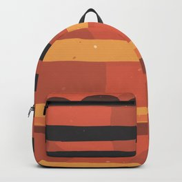 Abstract Modern Art Minimal Texture Bold Graphic Design Background GC-117-13 Backpack