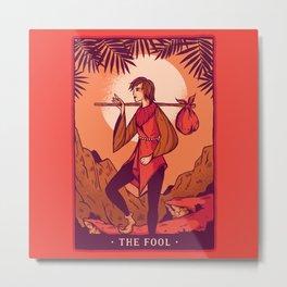 The Fool Tarot Metal Print