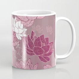 Ombre Lotus Lily Coffee Mug