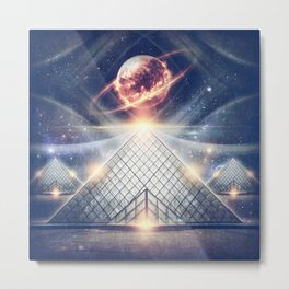 They Came in Peace Metal Print