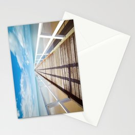 Pier sky 4 Stationery Cards