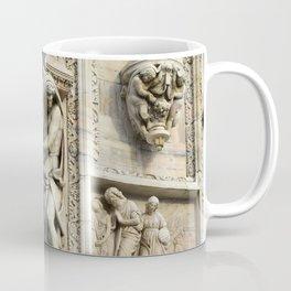Milan Duomo Cathedral Sculpture Sudy, Italy Coffee Mug
