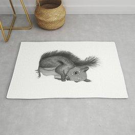 Luchador Squirrel Rug
