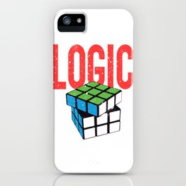 Love Brick games? Fan of Rubic's Cube? Found the perfect tee for you! Makes a nice gift too! iPhone Case