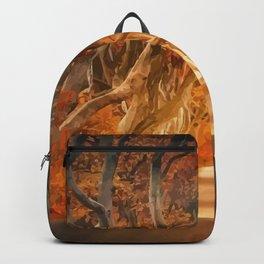 Dark hedges Backpack