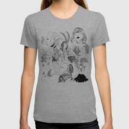 Eli Jorgensen Art Collage T-shirt