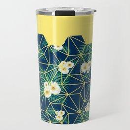 Tropical Tiles Travel Mug
