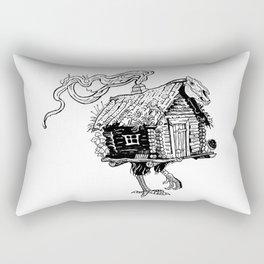 Baba Yaga's hut Rectangular Pillow