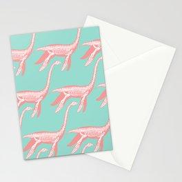 Nessie skeleton Stationery Cards