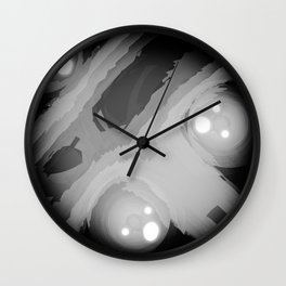 Boo Ghost Wall Clock