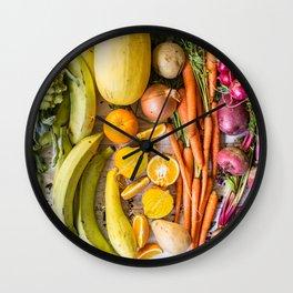 Eat the Rainbow Wall Clock