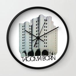 Tacoma Born - St. Josephs Hospital  Wall Clock