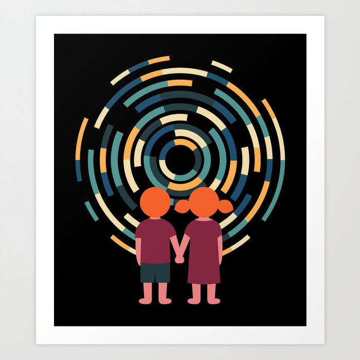 Discover the motif TIME TRAVEL by Andy Westface as a print at TOPPOSTER
