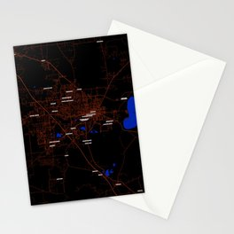 FanMap | NCAA SEC Florida #8 Stationery Cards