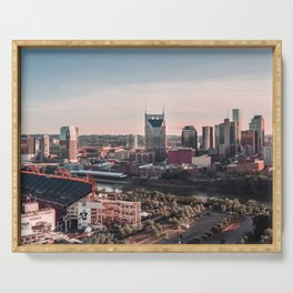 Nashville, Tennesse Serving Tray