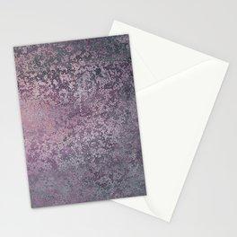 Experimental Oxides Mixed Media Amazing Amethyst Stationery Cards