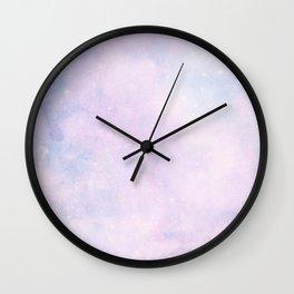 Pastel Cloulds Sky Seamless Nebula 56 Wall Clock