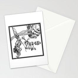 Whimsical Illustration Stationery Cards