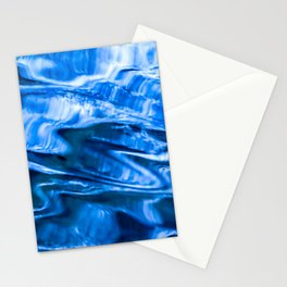 water abstract Stationery Cards