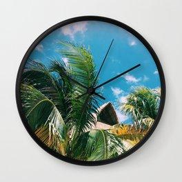 Isla Paraiso Wall Clock