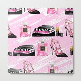 Perfume & Shoes Metal Print