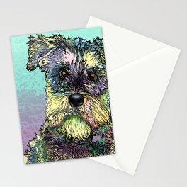 Schnauzer dog. Stationery Cards
