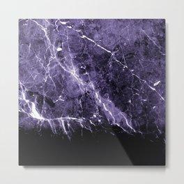 Ultra Violet Marble #1 #decor #art #society6 Metal Print