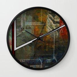 Comic Element Wall Clock
