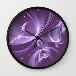 The stars Elves Wall Clock