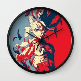 Dr. Stone Senku Poster Wall Clock