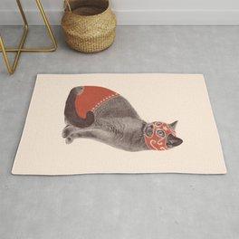 Cat Wrestler Rug