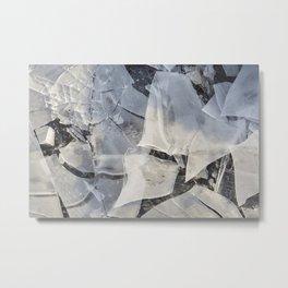 Broken Ice Metal Print