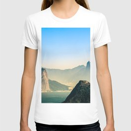 Rio de Janeiro Panoramic Photography T-shirt