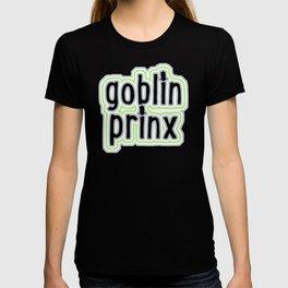 Goblin Prinx in Agender Flag T-shirt