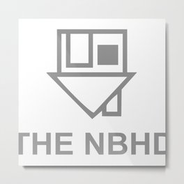 THE NEIGHBOURHOOD NBHD Metal Print