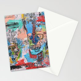 Close your eyes and breathe deeply Stationery Cards