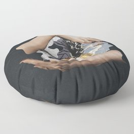 Meditations and Musings Floor Pillow