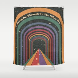 The Doors Of Perception - Break On Through To The Other Side Shower Curtain