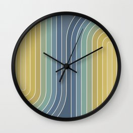 Gradient Curvature VIII Wall Clock