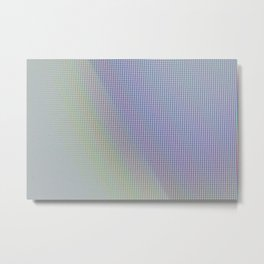 Extreme macro of colored pixels from screen Metal Print