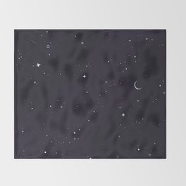 Starry Sky Throw Blanket