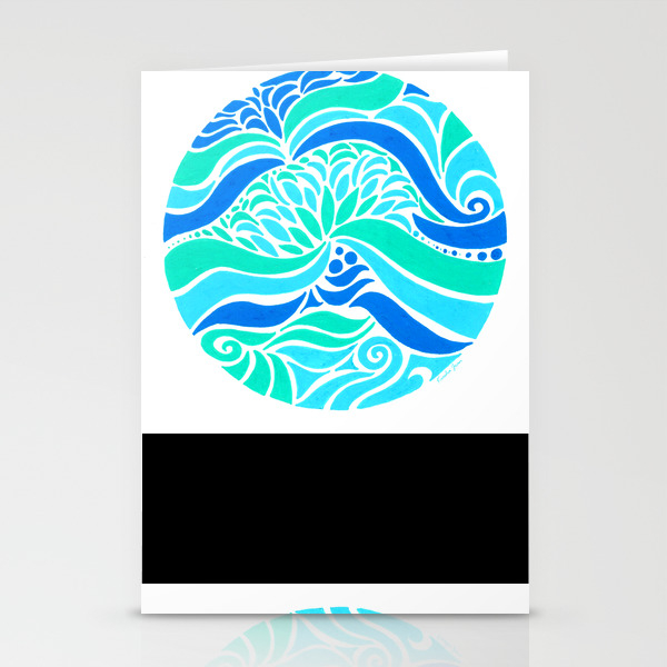 Makin Waves :: Color Therapy Collection :: Stationery Cards by Kieshajean CRD7752970