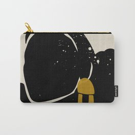 Black Hair No. 4 Carry-All Pouch