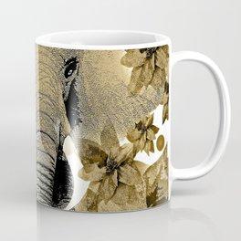 ELEPHANT RUSTIC DRAGONFLY  Coffee Mug
