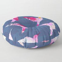 All a flutter Floor Pillow