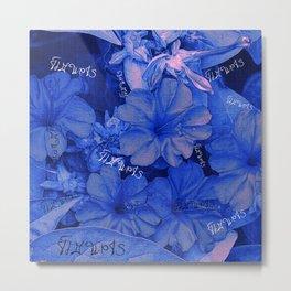 Flowers V3 VDC Metal Print